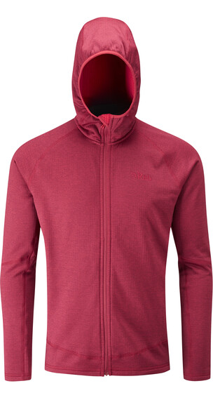 Rab Nucleus sweater Heren rood
